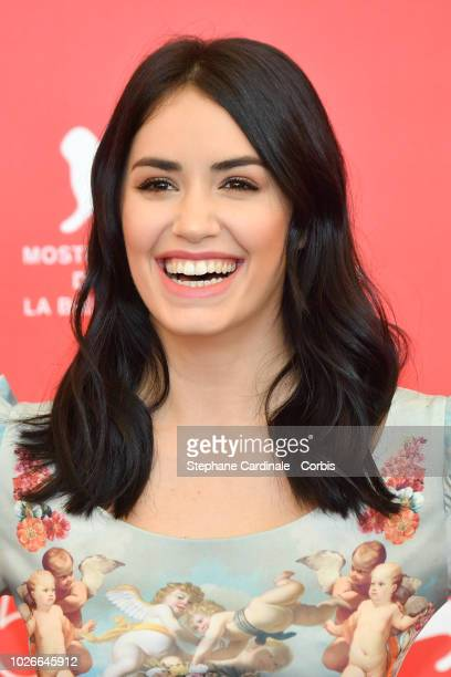 Actress Lali Esposito attends 'Acusada ' photocall during the 75th Venice Film Festival at Sala Casino on September 4 2018 in Venice Italy