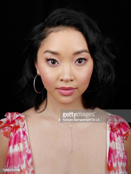 Actress Lana Condor attends the portrait studio at Four Seasons Hotel Los Angeles at Beverly Hills on January 05 2019 in Los Angeles California