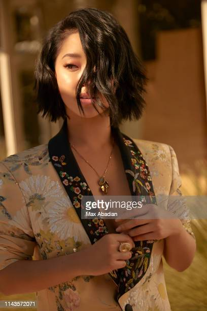 Actress Lana Condor is photographed for Elle Canada on January 25 2019 in Los Angeles California PUBLISHED IMAGE