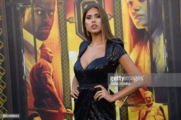 Actress Lana Del Toro attends the Los Angeles premiere of 'Hotel Artemis' on May 19, 2018 in Westwood Village, California.