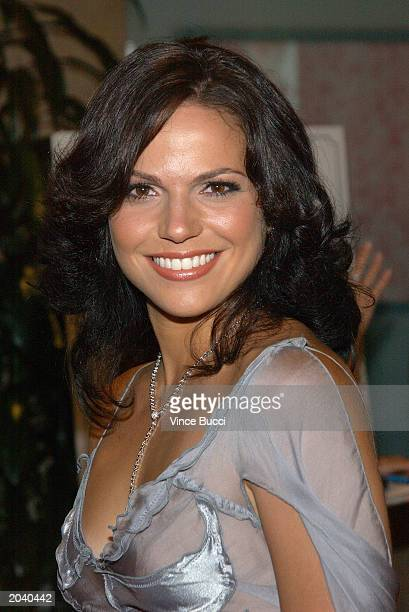 Actress Lana Parilla attends the 18th Annual Imagen Awards on May 29 2003 in Beverly Hills California The awards recognize the positive portrayal of...