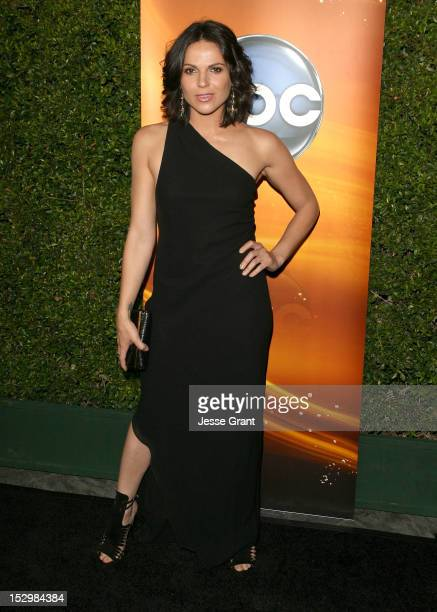 Actress Lana Parrilla arrives at ABC's Sunday Night Dramas 'Revenge and 'Once Upon A Time' Premieres Red Carpet Event at Lexington Social House on...
