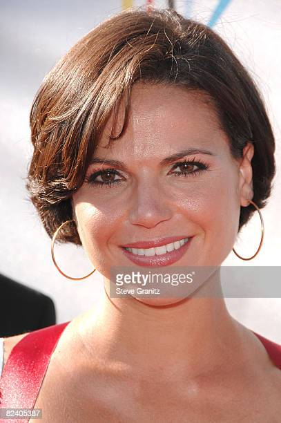 Actress Lana Parrilla arrives at the 2008 ALMA Awards at the Pasadena Civic Auditorium on August 17 2008 in Pasadena California