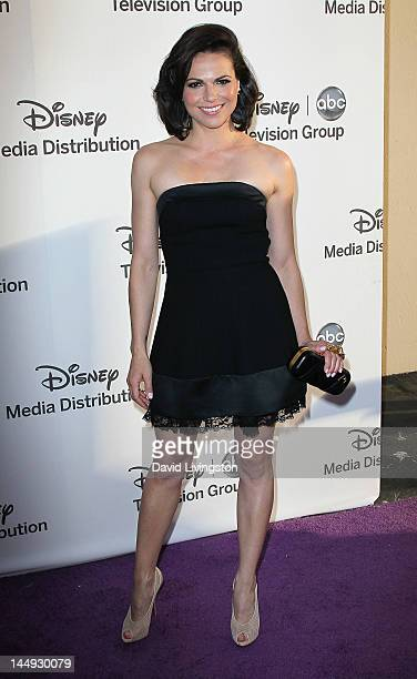 Actress Lana Parrilla attends Disney Media Networks International Upfronts at Walt Disney Studios on May 20 2012 in Burbank California