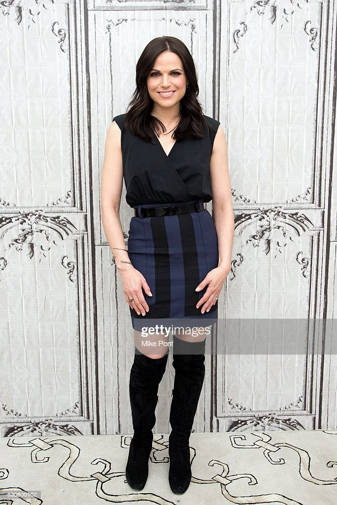Actress Lana Parrilla attends the AOL Build Speaker Series to discuss 'Once Upon A Time' on May 11, 2016 in New York, New York.