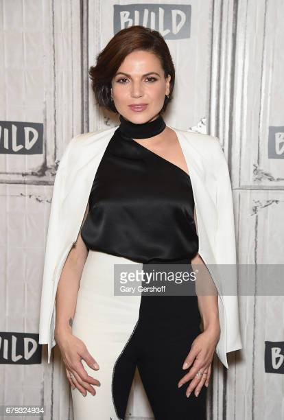 Actress Lana Parrilla attends the Build Series to discuss the TV series 'Once Upon a Time' at Build Studio on May 5 2017 in New York City