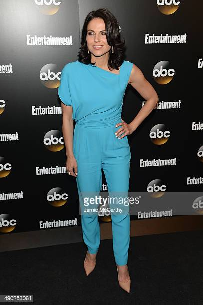 Actress Lana Parrilla attends the Entertainment Weekly ABC Upfronts Party at Toro on May 13 2014 in New York City