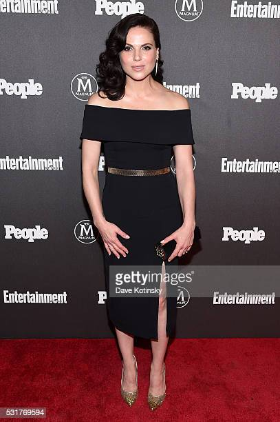Actress Lana Parrilla attends the Entertainment Weekly People Upfronts party 2016 at Cedar Lake on May 16 2016 in New York City