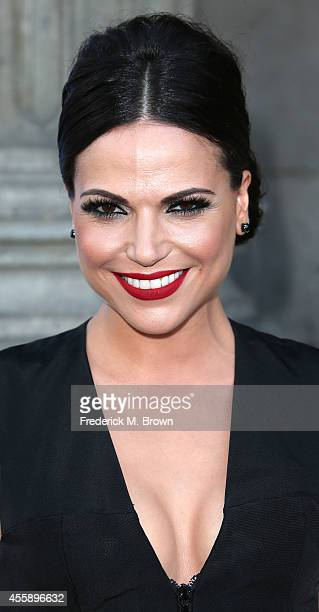 Actress Lana Parrilla attends the Screening of ABC's 'Once Upon A Time' Season 4 at the El Capitan Theatre on September 21 2014 in Hollywood...