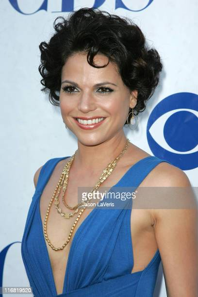 Actress Lana Parrilla attends the Swingtown Premiere Summer Block Party at CBS Studio Center on May 20 2008 in Studio City California