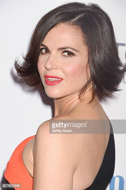 Actress Lana Parrilla attends the TrevorLIVE Los Angeles 2016 Fundraiser at the Beverly Hilton Hotel on December 04 2016 in Beverly Hills California