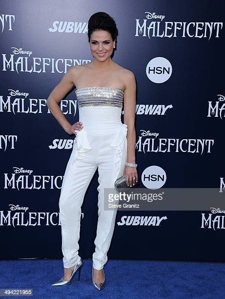Actress Lana Parrilla attends the World Premiere Of Disney's 'Maleficent' at the El Capitan Theatre on May 28 2014 in Hollywood California