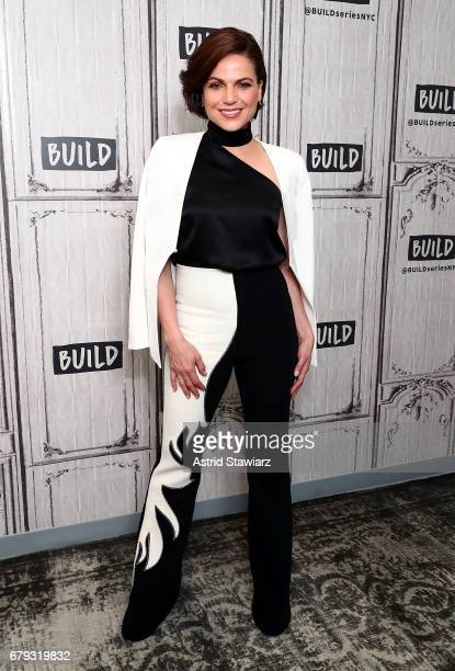 Actress Lana Parrilla discusses 'Once Upon A Time' at Build Studio on May 5 2017 in New York City