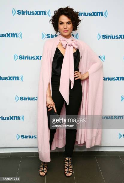 Actress Lana Parrilla visits the SiriusXM Studios on May 4 2017 in New York City