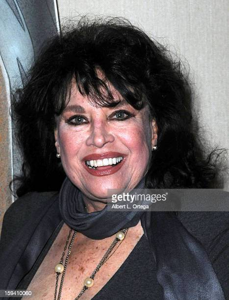 Actress Lana Wood attends day 1 of The Hollywood Show held at Westin LAX on January 12 2013 in Hollywood California