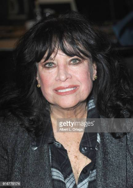 Actress Lana Wood attends The Hollywood Show held at Westin LAX Hotel on February 10 2018 in Los Angeles California