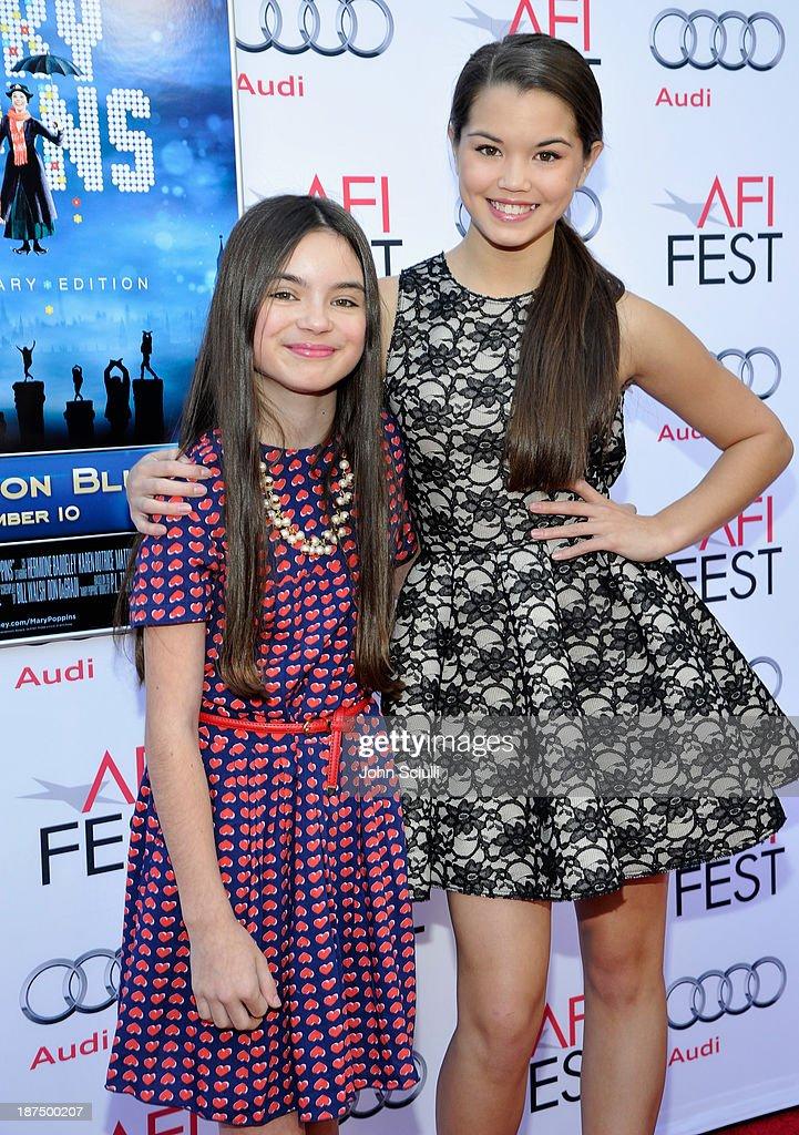 Actress Paris Berelc and her sister Jojo Berelc attend the