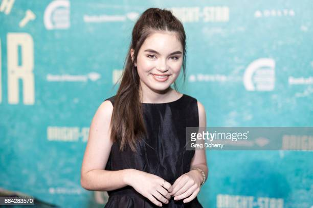 Actress Landry Bender arrives at the Opening Night Of 'Bright Star' at Ahmanson Theatre on October 20 2017 in Los Angeles California