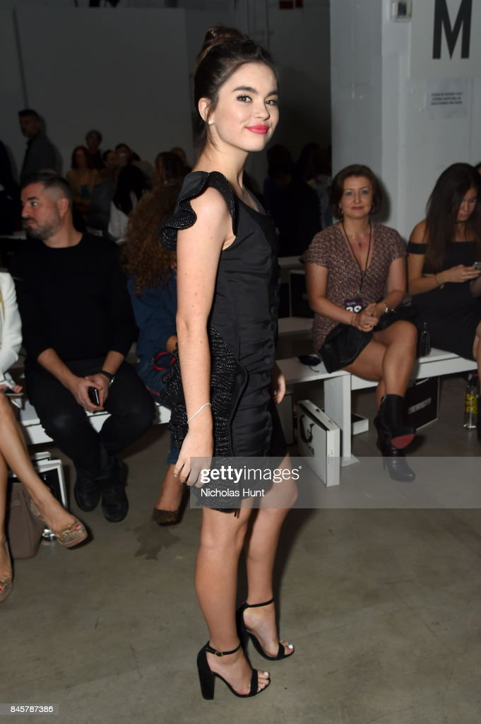 Actress Landry Bender attends Hakan Akkaya fashion show during New York Fashion Week: The Shows at Gallery 2, Skylight Clarkson Sq on September 11, 2017 in New York City.