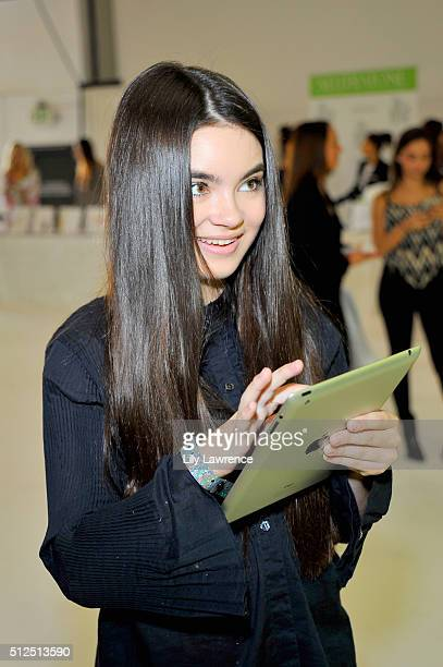Actress Landry Bender attends Kari Feinstein's Style Lounge presented by LIFX on February 26 2016 in Los Angeles California