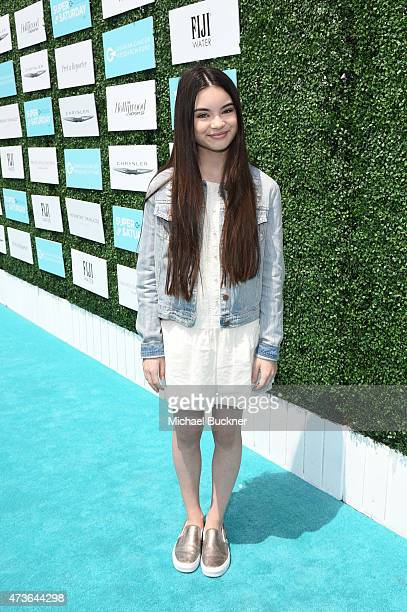 Actress Landry Bender attends OCRF's 2nd Annual Super Saturday LA on May 16 2015 in Santa Monica California