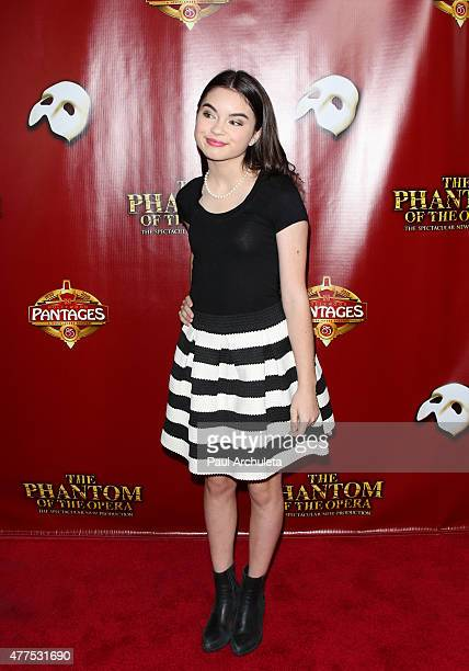 Actress Landry Bender attends the opening night of 'The Phantom Of The Opera' at the Pantages Theatre on June 17 2015 in Hollywood California