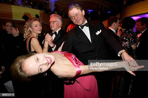 Entertainment Online Subscriptions GLR Included Actress Lara Joy Koerner and husband Heiner Pollert dance at the 37th German Filmball 2010 at the...
