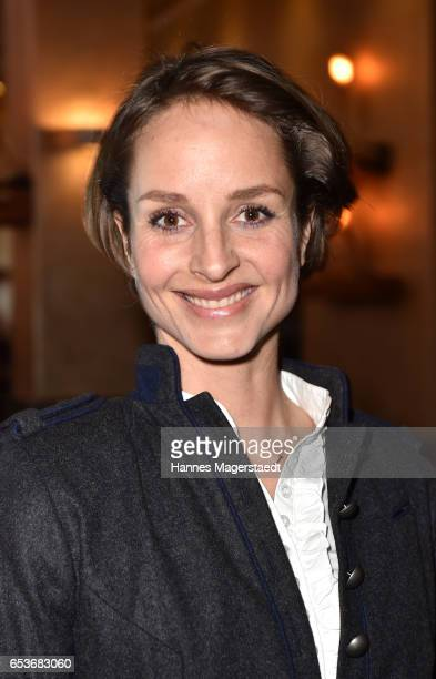 Actress Lara Joy Koerner during the NdF after work press cocktail at Parkcafe on March 15 2017 in Munich Germany