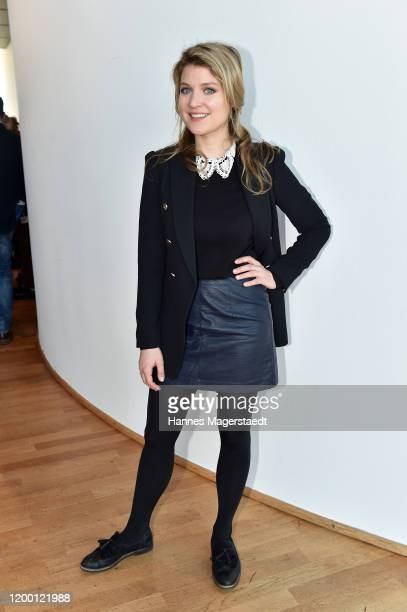 Actress Lara Mandoki during the BR Film Brunch at Literaturhaus on January 17 2020 in Munich Germany