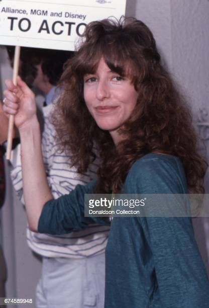 Actress Laraine Newman at the SAG and AFTRA Actors On Strike circa 1980 in Los Angeles California