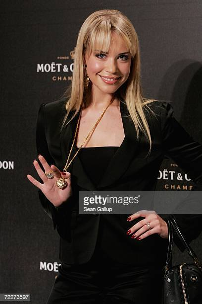 Actress LaraIsabelle Rentinck attends the Moet Chandon Fashion Debut at the Admiralspalast October 26 2006 in Berlin Germany