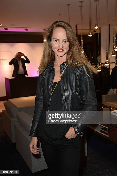 Actress LaraJoy Koerner attends the Hirmer Studio Opening on September 11 2013 in Munich Germany