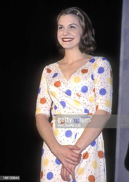 Actress Larisa Oleynik attends the 11th Annual Nickelodeon's Kids' Choice Awards on April 4 1998 at Pauley Pavilion UCLA in Westwood California