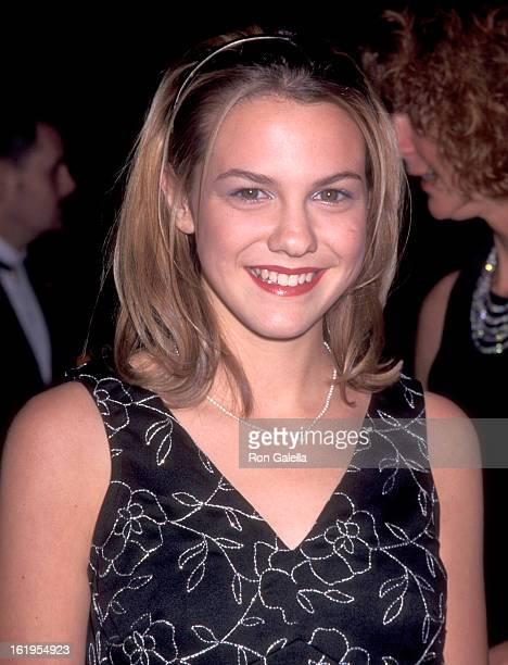 Actress Larisa Oleynik attends the 18th Annual National CableACE Awards on November 16 1996 at Wiltern Theatre in Los Angeles California