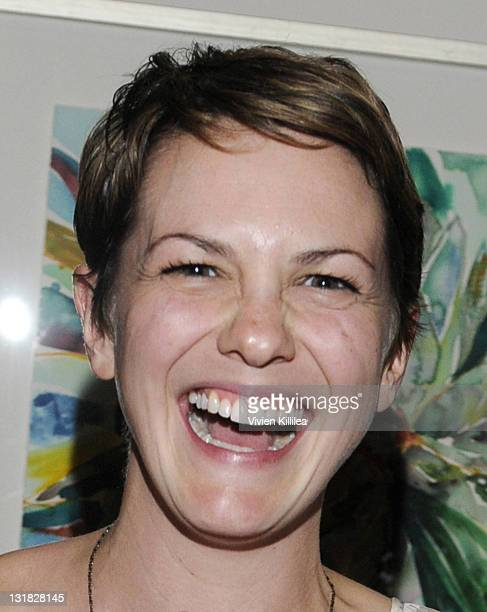 Actress Larisa Oleynik attends the Playmate Of The Year Comedy Event With Wendy Liebman at El Portal Theatre on March 12 2011 in North Hollywood...