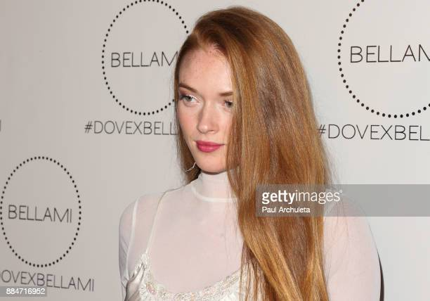Actress Larsen Thompson attends the launch party for the Dove x BELLAMI collection at Unici Casa Gallery on December 2 2017 in Culver City California
