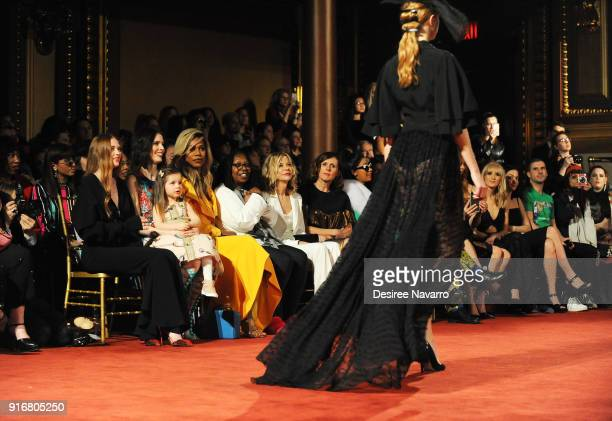 Actress Larsen Thompson Coco Rocha with her daughter Ioni James Conran Laverne Cox Whoopi Goldberg Meg Ryan Molly Shannon Cardi B Nastia Liukin Leigh...