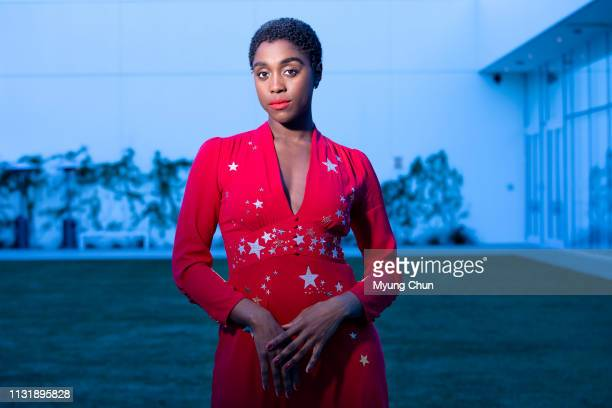 Actress Lashana Lynch is photographed for Los Angeles Times on February 22 2019 in Beverly Hills California PUBLISHED IMAGE CREDIT MUST READ Myung J...