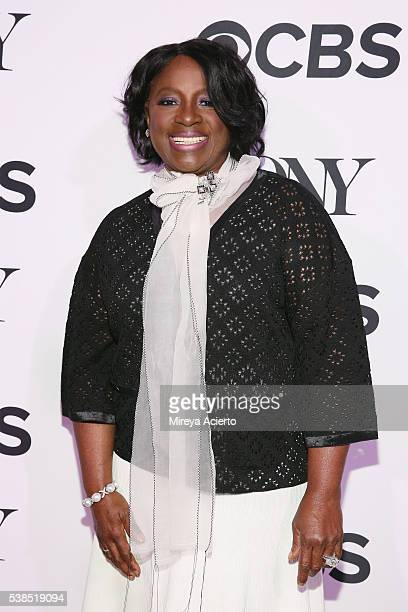 Actress LaTanya Richardson attends the 2016 Tony Honors Cocktail Party at The Diamond Horseshoe on June 6 2016 in New York City