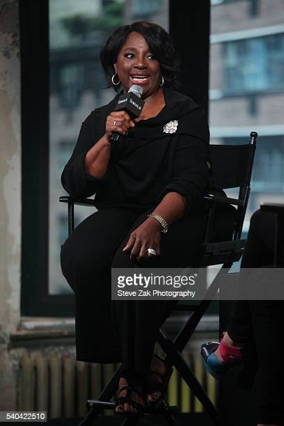 Actress LaTanya Richardson Jackson attends AOL Build Speaker Series The Taming Of The Shrew at AOL Studios In New York on June 15 2016 in New York...