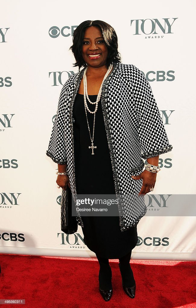 Actress LaTanya Richardson Jackson attends the 2014 Tony Honors Cocktail Party at Paramount Hotel on June 2, 2014 in New York City.