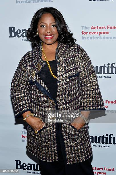 Actress LaTanya Richardson Jackson attends the Actors Fund Benefit Performance of 'Beautiful The Carole King Musical' at Stephen Sondheim Theatre on...