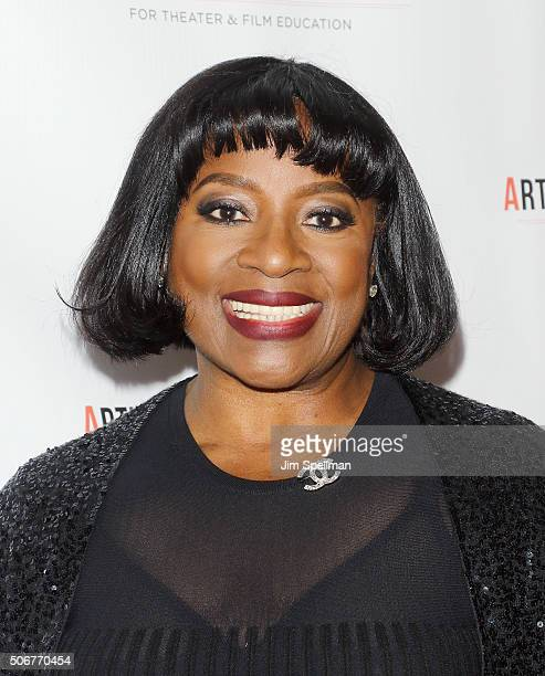 Actress LaTanya Richardson Jackson attends the Arthur Miller One Night 100 Years Benefit at Lyceum Theatre on January 25 2016 in New York City