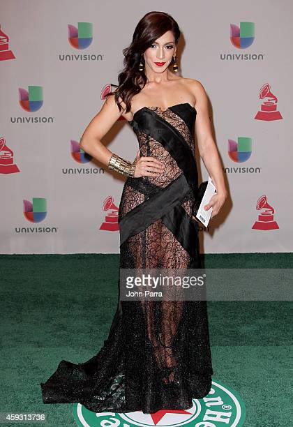 Actress Laura Aleman attends the 15th annual Latin GRAMMY Awards at the MGM Grand Garden Arena on November 20, 2014 in Las Vegas, Nevada.