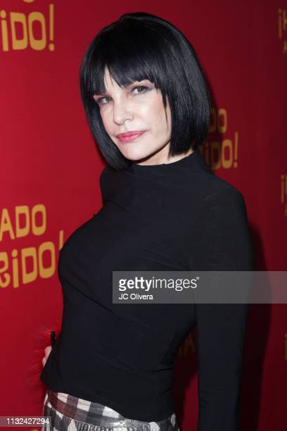 Actress Laura Bayona attends 'HE MATADO A MI MARIDO' Los Angeles Premiere at Harmony Gold Theatre on February 26 2019 in Los Angeles California