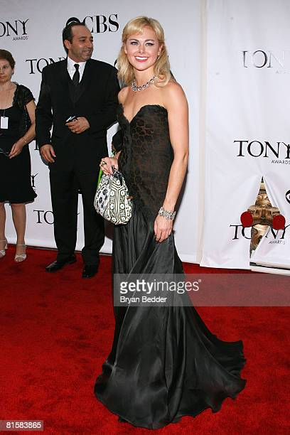 Actress Laura Bell Bundy arrives at the 62nd Annual Tony Awards held at Radio City Music Hall on June 15 2008 in New York City