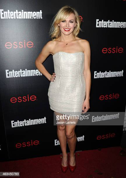 Actress Laura Bell Bundy attends the Entertainment Weekly SAG Awards preparty at Chateau Marmont on January 17 2014 in Los Angeles California