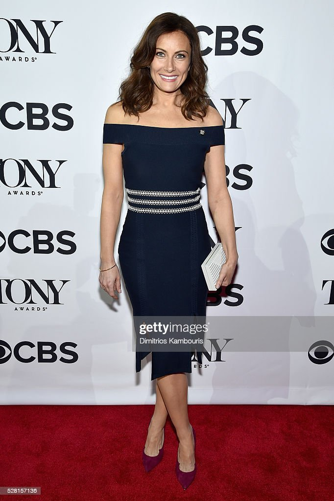 Actress Laura Benanti attends the 2016 Tony Awards Meet The Nominees Press Reception on May 4, 2016 in New York City.