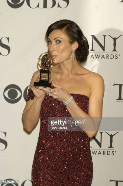 Actress Laura Benanti attends the 62nd Annual Tony Awards at the Rainbow Room on June 15 2008 in New York City