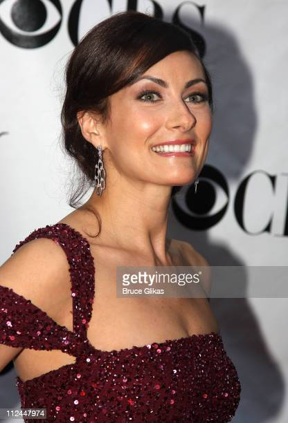 Actress Laura Benanti attends the 62nd Annual Tony Awards on June 15 2008 at Radio City Music Hall in New York City